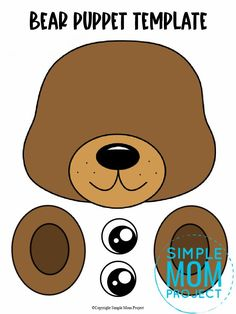 Click now to download and print our free bear template to make this fun brown teddy bear paper bag puppet craft. Print three of them to have a start in a puppet show of Goldilocks and the three bears! This bear paper bag puppet craft is perfect for kids of all ages including preschoolers and toddlers. Zoo Crafts, Bear Crafts, Puppet Crafts, Animal Crafts For Kids, Toddler Crafts, Bear Template, The Bear Family, Paper Bag Crafts, Paper Bag Puppets