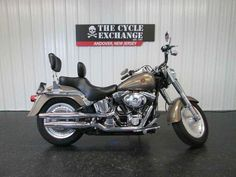 Used 2005 Harley-Davidson FLSTF/FLSTFI Fat Boy Motorcycles For Sale in New Jersey,NJ. 2005 Harley-Davidson FLSTF/FLSTFI Fat Boy, 2005 Harley Davidson FatBoy Softail - Appears mostly stock excluding the large windscreen and Harley touring style seat that has both a rider and passenger backrest. Also features heated grips and tire with approximately 75% life remaining. Some evidence of a possible right side tip. Comes with 30-Day Unlimited Mile Powertrain Warranty and Wholesale Buyback…
