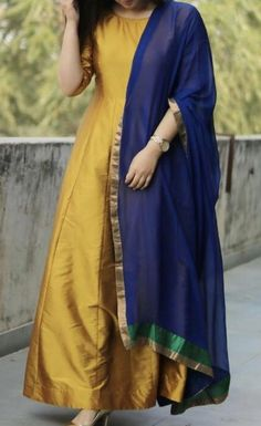 Buy Yellow Solid Poly Silk Plain Semi Stitched Long Anarkali Suit online in India at best price.Product Details Featured in Collections PartyWear Suits Poly Silk Plain Yellow Semi Stitched Long Anarkali Silk Anarkali Suits, Long Anarkali, Anarkali Dress, Pakistani Dresses, Indian Dresses, Indian Outfits, Hijab Dress, Salwar Suits, Salwar Designs