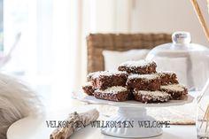 Saftiger Schokoladenkuchen & herzlich willkommen