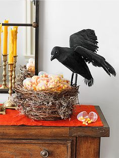 pics of decor for reading signs | Easy Halloween Decorations - Halloween Home Decor - Woman's Day