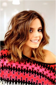 Long Bob Hairstyles for Wavy Hair