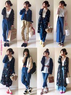 New style inspiration simple hijab ideas Fashion Mode, Japan Fashion, Kpop Fashion, Modest Fashion, Trendy Fashion, Korean Fashion, Fashion Outfits, Womens Fashion, Mom Outfits