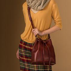 Bag NITA FW 15/16 #ilbisonte #bag #leather #madeinitaly