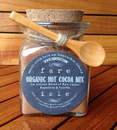 Organic Vanilla Hot Cocoa Mix