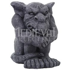 Gargoyle Pondering Statue - CC8502 by Medieval Collectibles