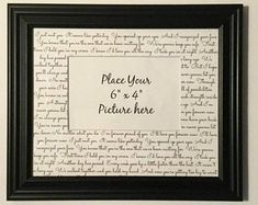 Personalized Wedding Frames by WeddingFramesByDiane on Etsy Father Daughter Dance Songs, First Dance Lyrics, Father Of The Bride, You Are The Father, First Dance Photos, Wedding Gifts For Parents, Advice For Bride, First Anniversary Gifts, Wedding Frames