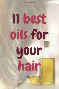 The 11 best oils for your hair Do you love hair oil treatments but don't know which oils are best for healthy hair growth, dry hair or other hair problems? Check out this list of the 11 best oils for you hair! Hair Oil For Dry Hair, Best Hair Oil, Dull Hair, Dry Hair Treatment, Hair Treatments, Keratin Treatments, Curly Hair Braids, Beauty Tips For Hair, Hair Tips