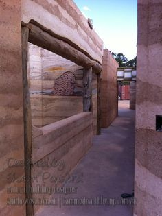 A beautiful rammed earth house western australia under construction Pavilion Architecture, Sustainable Architecture, Residential Architecture, Amazing Architecture, Contemporary Architecture, Cargo Container Homes, Container Cabin, Container Design, Container Store