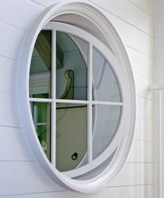 Round Revolving Window.
