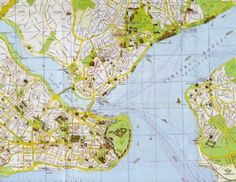 Istanbul and sultanahmet map