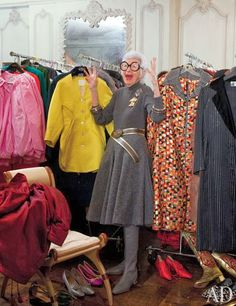 O apartamento do ícone fashion Iris Apfel