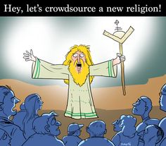 Isn't It Time For A New Religion?