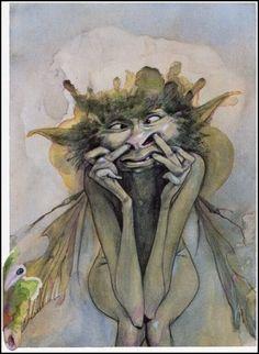 Booger fairy. Yuck.