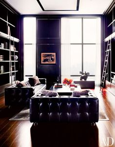 Paint It Black: 9 Reasons to Embrace Your Dark Side via @domainehome