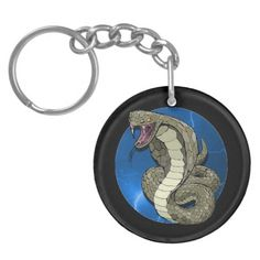 Cobra Lightning Key Chain Acrylic Key Chain