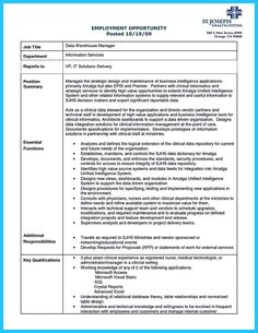 Cool High Quality Data Analyst Resume Sample From Professionals, Check More  At Http:/  Cake Decorator Resume