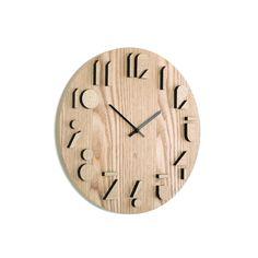 Umbra Shadow - Reloj de pared, color natural: Amazon.es: Hogar