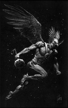 Hawkman by Eddy Newell