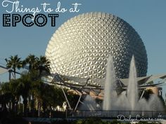 Disney World, Epcot. Such an awesome place to visit.