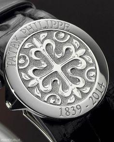 Patek Philippe Chiming Jump Hour Ref 5275P (175th Anniversary) strap clasp