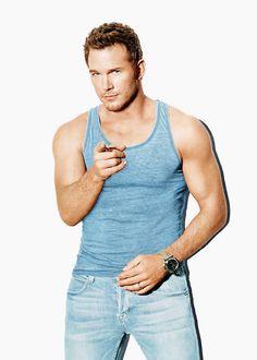 jenslawrence:  Chris Pratt photographed by Emily Shur for Men's Health magazine (July/August 2015)