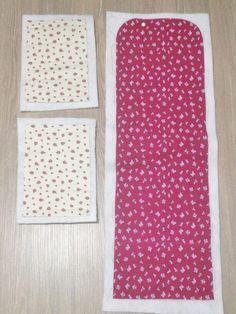 Acompanhe o passo à passo de como fazer uma bolsinha estilo frasqueira de tecido.