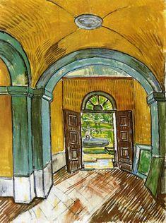 Asile Saint-Paul de Mausole à Saint-Rémy de Provence où Vincent Van Gogh séjourna à sa demande du 8 mai 1889 au 16 mai 1990