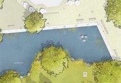 scape (2015): Revitalisierung Stadtpark und Fritz-Gressard-Platz, Hilden (DE), via competitionline.com