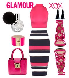 pinky by ollohuligan on Polyvore featuring WearAll, Oasis, ALDO, Betsey Johnson, CC SKYE, 3AM Imports and GALA