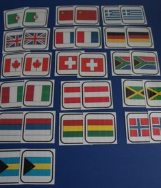 Les drapeaux (Préparatifs de voyage)