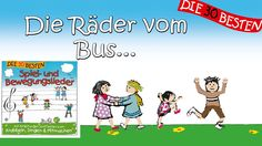 Die Räder vom Bus - Die besten Spiel - und Bewegungslieder    Kinderlieder