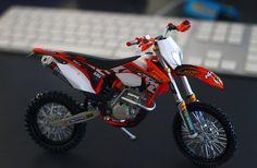 Moto KTM EXC 2013 - De brinquedo