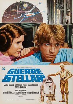 "An Italian ""photobusta"" for the original Star Wars (1977)"