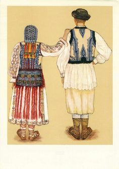 Folk costumes from Banat, Romania Folk Costume, Costumes, Eastern Europe, Fashion History, Traditional Dresses, Romania, Textiles, Gallery, 1 Decembrie