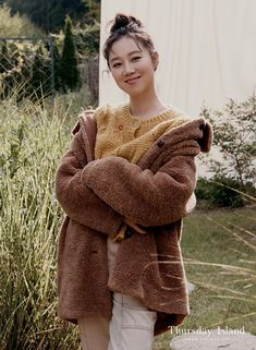 Gong Hyo Jin, Korean, Actresses, Pullover, Sweaters, Beauty, Style, Fashion, Female Actresses
