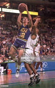 Jazz Basketball, Basketball Players, John Stockton, Karl Malone, Zinedine Zidane, Athlete, Baseball Cards, Sports, Ballon