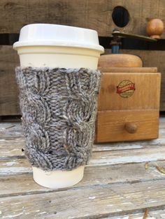 A personal favorite from my Etsy shop https://www.etsy.com/listing/121765077/coffee-cozy-coffee-sleeve-coffee-cup