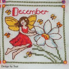 Lesley Teare - Birthday Fairies (Calendar 2015) - December