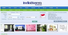 Buy, Sell & rent 1 2 3 BHK apartments and flats.  Search brokers, real estate dealers, agents, companies etc.  Find Commercial & residential real estate properties here. http://www.indiabasera.com