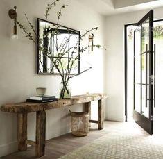 Entryway table designs ideas for home interior decoration 7 Home Design, Home Interior Design, Interior Decorating, Decorating Ideas, Design Ideas, Apartments Decorating, Decorating Bedrooms, Modern Design, Decor Ideas