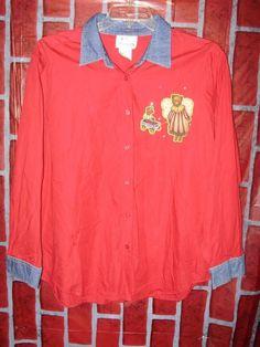 bd409bd130c7 Quacker Factory 2X womens plus size American Flag Patriotic cardigan red  blue  QuackerFactory  ButtonDownShirt