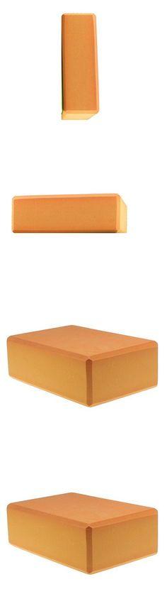 Orange Women 1pc Foaming Foam Yoga Block Brick Home Exercise Practice  Fitness Gym Sport Fitness Stretching 450009cc9796