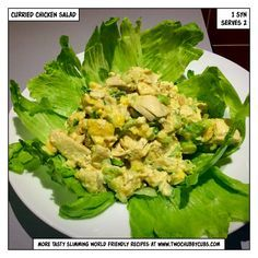 This Slimming World friendly coronation curried chicken salad (sort of) is almost syn free and makes a perfect wrap or jacket potato filler! Remember, at www.twochubbycubs.com we post a new Slimming World recipe nearly every day. Our aim is good food, low in syns and served with enough laughs to make this dieting business worthwhile. Please share our recipes far and wide! We've also got a facebook group at www.facebook.com/twochubbycubs - enjoy!