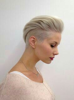 Naughty Pixie hairstyles for ladies. 30 Ideas Naughty Pixie hairstyles for ladies. 30 Ideas Short haircuts for women are more fashionable than ever, and in this post we present you some cheeky short hairstyles that are a total hit in Pixie Haircuts Short Hair Cuts For Women, Short Hairstyles For Women, Straight Hairstyles, Short Hair Styles, Short Haircuts, One Side Shaved Hairstyles, Mohawk Styles, Blonde Hairstyles, Undercut Women