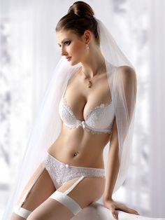 gorgeous bridal #lingerie #wedding