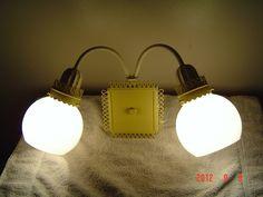Shabby Chic Double Globe Sconce Wall Light. $45.00, via Etsy.