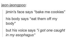 """""""I got one caught in my esophagus"""""""