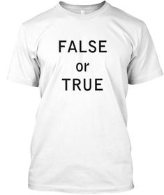False White Kaos Front