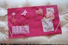 Kit costura - rosa - detalhes